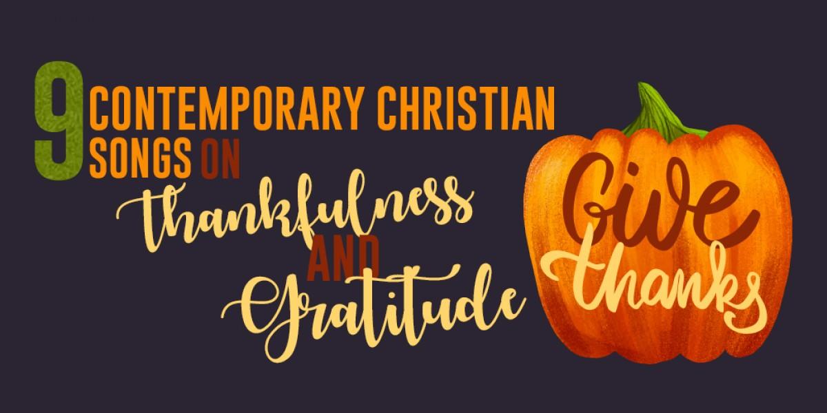 contemporary christian thanksgiving songs